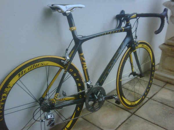 Lance's 2009 TDF Bike